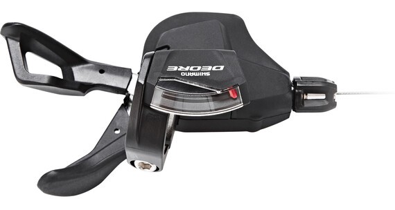 Shimano Deore MTB SL-M6000 Schalthebel 2/3-fach mit optische Ganganzeige schwarz